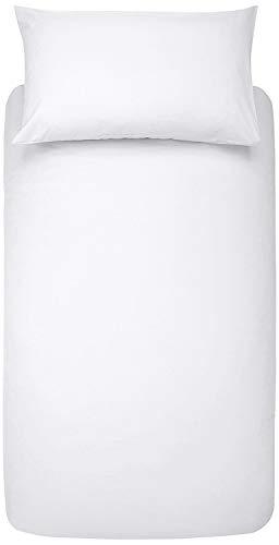 Co-operative Independent Living Bettdeckenbezug, Anti-allergen, wasserabweisend, weiß, Einzelbett