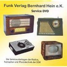 Service-DVD der DDR-Geräte: Die Serviceunterlagen der Radios, Fernseher und Phonotechnik der DDR