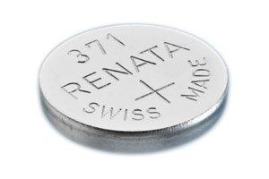 Uhrenbatterie Renata Swiss Made Renata 371 oder SR 920 SW 1,5 V (5 x 371 oder SR 920 SW)