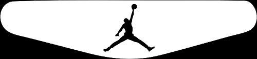 Play Station PS4 Lightbar Sticker Aufkleber Jordan Basketball (weiß) Jordan Aufkleber