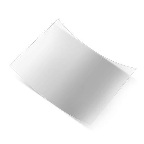 Leslaur Anet Release Film Professionelle FEP Film Blatt Transparent Größe 200 * 150mm Dicke 0,15-0,2mm Lichtdurchlässigkeit 95% für ELEGOO Mars Anycubic Photon KREALITÄT LD-001 Nova3d MICROMAKE Ld-liner