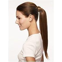 50,8 cm de cola para caballo de ojo de diseño de mujer con pelo