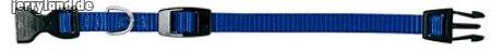 Ferplast 75265925 Club Collare in Nylon, 45x70 cm, 25 mm, Blu
