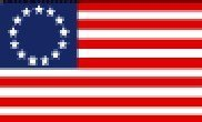 Betsy Ross - 3' x 5' Nylon Flag (Sewn and Embroidered) by Flagline -