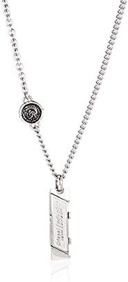 Diesel Men's Stainless Steel Necklace, DX103