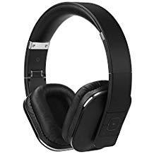 August EP650B, Cuffie Stereo Senza Fili Bluetooth v4.2, Circumaurali con NFC aptX e Funzione Multipoint Multipair, Nero