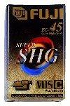 Fuji VHS-C SHG EC 45 45 min VHS-C-Videokassette