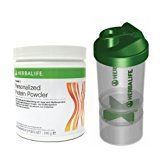 Herbalife Snack (HERBALIFE Formula 3 - Personalized Protein Powder - mit Smart Shaker - 240 g)