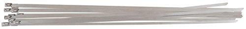 KS Tools 115.1593 - Acero inoxidable bridas de bolas de bloqueo, 4,6x350mm