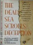 The Dead Sea Scrolls Deception by Michael Baigent (1992-01-15) - Michael Baigent;Richard Leigh