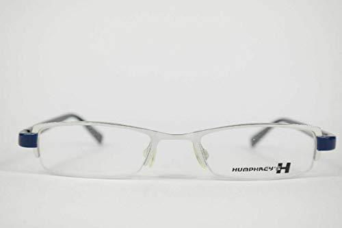 Eschenbach Humphreys 2580 00 48[]19 135 Silber Blau halbrand Brille Neu