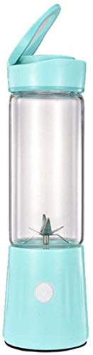 8bayfa Minimultifunktions Entsafter for Heim, BPA frei, Wiederaufladbare tragbaren Saft Cup, Anti-Drip, leicht zu reinigen Filter, B (Color : D)