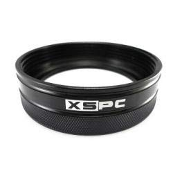 XSPC 5060175584847 - D5 Aluminium Screw Ring (Black) for D5 Photon & Dual Bay V2 Reservoirs -
