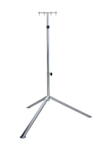 as-Schwabe 46750 Profi-Stativ für Halogen-Strahler, LED-Strahler, Baustrahler usw., verzinkt, standfest, verstellbar bis 2.60 m
