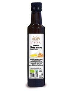 ACEITE DE SÉSAMO BIO LO BLANC - 250 ml