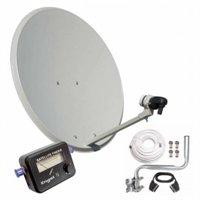 Kit Antena PARABOLICA Engel 60CM+ LNB+LOCALIZADOR