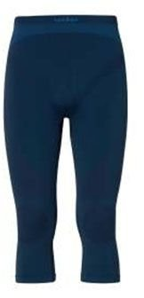 Odlo Pants 3/4 Evolution Warm sous-vêtements Homme, Directoire Blue-Navy New, XL