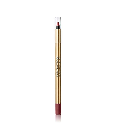 Max Factor Colour Elixir Lip Liner Mauve Moment 06, Ideal definierte Lippenkontur für formvollendete, in Szene gesetzte Lippen, mit geschmeidigem Auftrag