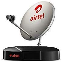 Airtel Digital TV HD Set Top Box With 1 Month Hd Pack