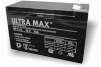 TWO x ULTRAMAX 12V 7Ah BAIT BOAT Batteries | Waverunner, Viper etc by ULTRA MAX