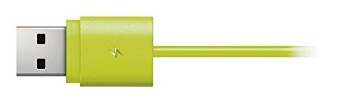 Philips SHQ7300LF AcitonFit - Auriculares deportivos In-Ear (Bluetooth/NFC, graves potentes), verde/gris