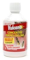 Soluzione concentrata insetticida contro vespe e calabroni