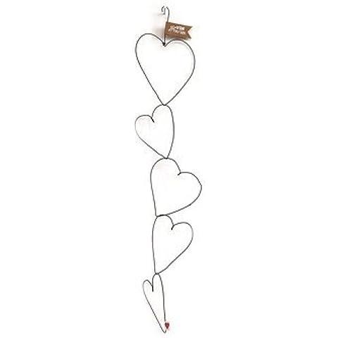 Filo a forma di cuore - catena di cuore - Fili A Forma Di Cuore