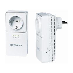 Powerline Av Adapter-kit (NETGEAR XAVB2501-100PES Powerline AV+ Adapter Kit (200 Mbit, Netzwerk aus der Steckdose))