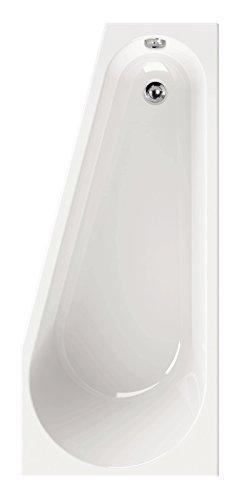 AquaSu 80181 2 Acryl laPino, 160 x 70 cm, Weiß, Wanne, Badewanne, Bad, Badezimmer, Linke Ausführung