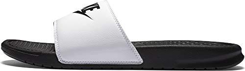 Nike 343880, Zoccoli Uomo, Bianco (Weiß (White/Black/Black 100)), 45 EU