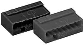 Wago Micro Dosenklemme 8 x 0,6-0,8 qmm, 50 Stück, grau, 243-208 von Wago - Lampenhans.de