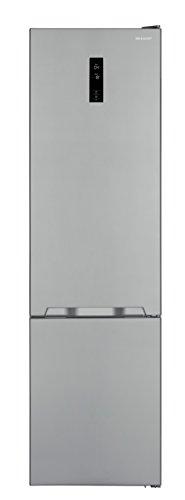 Sharp SJ-BA20IEXI2-EU Kühl-Gefrier-Kombination / A++ / Höhe 210 cm / Kühlteil 266 L / Gefrierteil 94 L / LED-Display / Null-Grad-Zone / Gemüseschubfach mit Feuchteregler / Edelstahl