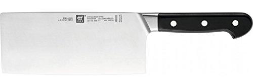 Zwilling Chinesisches Kochmesser ZWILLING Pro 18 cm silber SIGMAFORGE Messer, aus einem Stück Stahl präzisionsgeschmiedet ZWILLING Pro