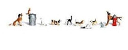 Woodland Scenics WA2725 Hunde und Katzen 10 Stück -