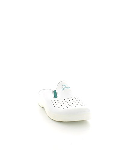 Ciabatta Sanitaria Donna Made In Italy Fly Flot Bianca Bianco Blu Ospedale Ciabatte sanitarie FLY FLOT Art 371 Bianco