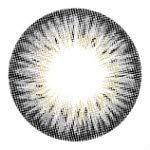 Kontaktlinsen de Farbe Fantaisie Jährlichen gültig 1 Jahr ohne Stärke NEU grau für die Augen dunkle auch Colors of the Wind silver gray(cow48)