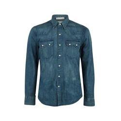 Levi's Strauss Camisa Hombre Sawtooth Western Azul L