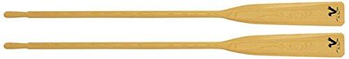 Paire de rame en bois 195 cm longeur pour barque
