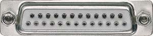 D-subminiatur-stecker (Merten 465025 D-Subminiatur-Buchsenleiste, 25-polig)