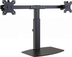 Vision VFM-DSDG Multimedia Stand Black Flat Panel Multimediaständer (Multimedia Stand, Black, Aluminium,Steel, Flat Panel, 16 kg, 33 cm (13 Zoll)) Vision Flat Panel