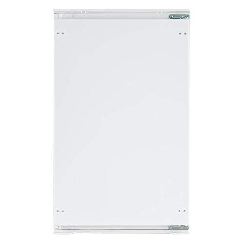 Klarstein Coolzone 130 - Réfrigérateur encastrable, Capacité de 130 litres, 3 niveaux, Compartiment à légumes, Classe énergétique A+, Avec niche pour appareils, Blanc