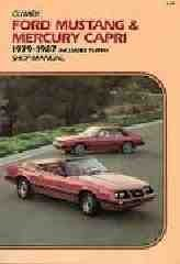 Ford Mustang and Mercury Capri, 1979-1987 Includes Turbo Shop Manual