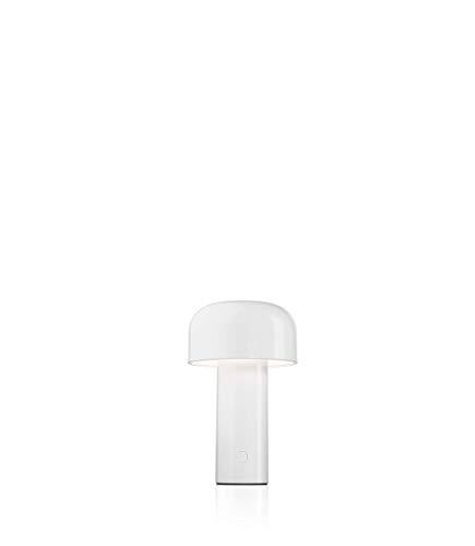 FLOS Bellhop Battery, policarbonato, Color Blanco, 12,5x 21cm