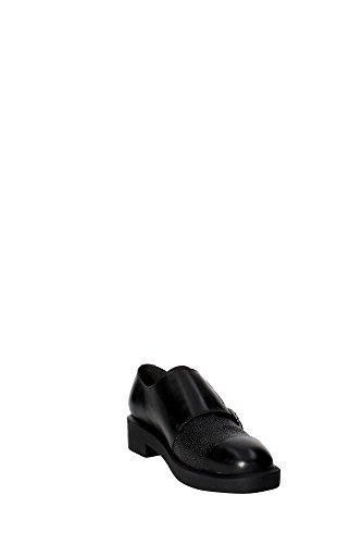 BronxBcarlX - Scarpe stringate Donna Nero (Nero (01 black))