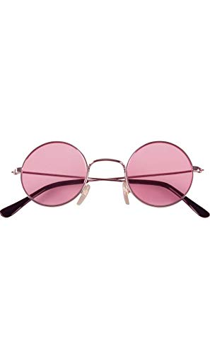 Boland BOL02591 - Gafas redondas Hippy adultos