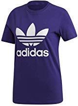 Adidas Trefoil, Camiseta mujer, Collegiate purple