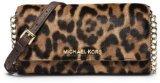 Michael Kors Jet Set Travel Leopard Haar Kalb Chain Wallet
