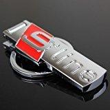 Audi Sline Schlüsselanhänger, Metall, OHNE GESCHENKBOX