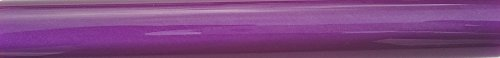 Charnwood AR27 Rohling zum Drechseln von Stiften, Acryl, rund, blanko, Lila mit Perlglanz
