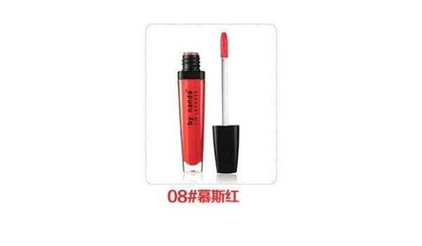 Buy Homely 08Mousse red: Make up Lip GlossLasting Moisture Does not